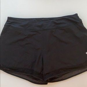 Pants - Black WORKOUT SHORTS SZ L with lining.